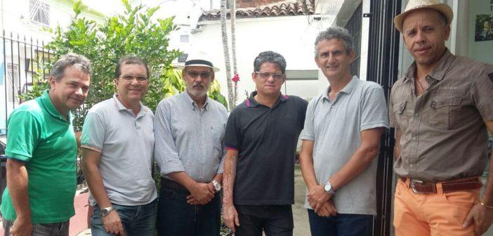 Visita aos associados de Itororó para reunião administrativa, juntamente com o Delegado da base de Itabuna, Jailton Dias.
