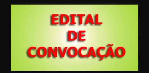EDITAL DE CONVOCAÇÃO PARA: decidir e confirmar o voto relativo a eleição da nova Diretoria da ANTEFFA para o triênio 2021/2024.