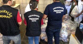 TAFFAs da Bahia apreendem carnes impróprias para o consumo