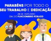 Parabéns à todos os Servidores Público pelo seu dia